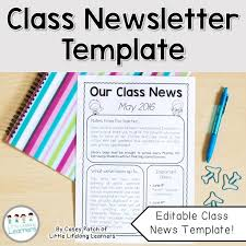 Free Teacher Newsletter Templates Fun Newsletter Templates Free Psypro Info