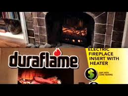 unboxing and review duraflame electric fireplace insert with heater