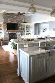 Kitchen Floor Design Ideas Enchanting Attractive Open Floor Plan Home The Strategy And Style Behind