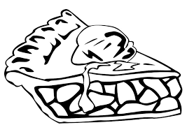 Small Picture Pie Coloring Page Coloring Book