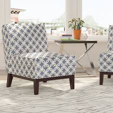 brayden studio mayberry blue slipper chair  reviews  wayfair
