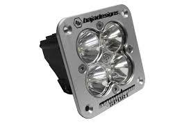 baja design squadron sport led light flush mount 2776