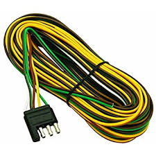 com wesbar wishbone style trailer wiring harness this item wesbar 707261 wishbone style trailer wiring harness 4 flat connector