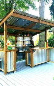 outdoor gazebo chandelier traditional regarding design 17