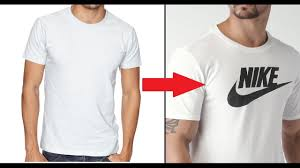 Make Your Shirt Make Your Own Diy Custom Brand T Shirt Without Transfer Paper Tutorial