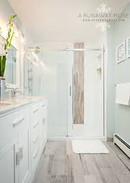 Remodeling Bathroom Floor Beauteous A Runaway Muse Interior Design 48's Townhouse Renovation With IKEA