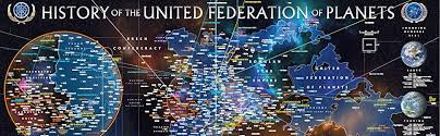 46 Accurate Map Of The Federation Of Planets