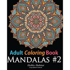 coloring in patterns 2. Delighful Coloring Adult Coloring Book Mandala 2 Book For Grownups Featuring 45  Beautiful Throughout In Patterns 2