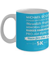 The Office Rabies Awareness Fun Run Funny Mug Quote Mug Coffee
