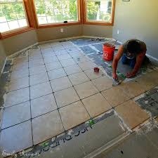 8 steps to laying a new tile floor diy ceramic cleaner