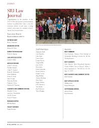 SIU Lawyer Magazine - Fall 2011 by Southern Illinois University Carbondale  - issuu