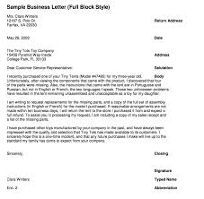 Letter Bussines Writing Business Letters Guides
