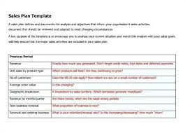Sales Goals Template Sales Goals And Objectives Template