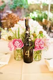 Jars Centerpieces Wine Bottle And Mason Jar Centerpieces