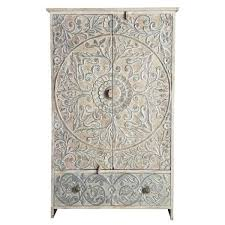 hand carved indian french style cabinet glass display cabinet filing cabinets