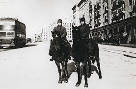 К летию Победы в Великой Отечественной войне гг  Конный патруль от ОМСДОН Москва 1941