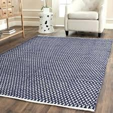 cotton area rugs 8x10 handmade navy blue cotton rug home insights island breeze furniture
