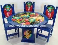 painted mexican furnitureAmazoncom Mexican Carved Painted Furnitue Hand Painted Hand