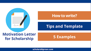 I am submitting this application for the name of scholarship to further my education in environmental studies. How To Write A Motivation Letter For Scholarship 5 Examples