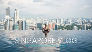 Best INFINITY POOL in the WORLD is located in SINGAPORE Vlog 011