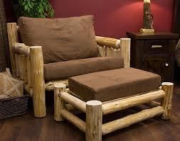 lake cabin furniture. Cedar Lake Cabin Log Chair And A Half Chairs Rustic Furniture  Lake Cabin Furniture
