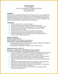qa tester resume sample
