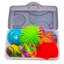 box of sensory activity for people with dementia including alzheimer s disease