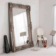 floor mirror. Buckingham Silver Antique French Style Floorstanding Mirror Floor O