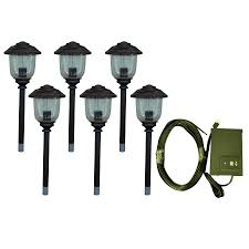 photo gallery of the low voltage garden lights