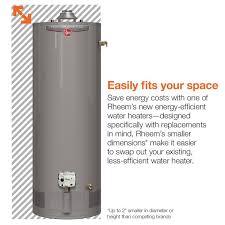 rheem 50 gallon gas water heater. rheem performance 50 gal. tall 42,000 btu power vent natural gas water heater gallon e