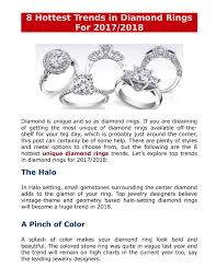 Top Engagement Ring Designers 2017 8 Hottest Trends In Diamond Rings For 2017 2018 By