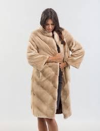 palomino mink fur coat