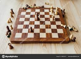 Vintage Wooden Board Games Old wooden chess board Stock Photo © ViktoriaSapata 100 79