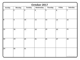 october 2017 calendar october 2017 calendar printable