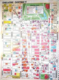 times square map  new york ny • mappery