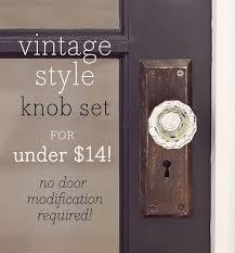 Antique looking door knobs Old Fashioned Jenna Sue Vintage Glass Doorknob Diy For Under 14 House Of Antique Hardware Vintage Glass Doorknob Diy For Under 14 When We Build