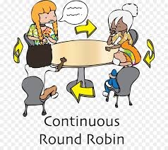 round robin scheduling cooperative learning student clip art cooperative