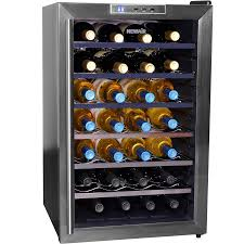 newair 28 bottle wine cooler. Contemporary Newair NewAir AW281E Classic 28 Bottle Thermoelectric Wine Cooler  Stainless  Steel  And Newair A