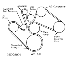 20006 toyota hilux 3 0l serpentine belt diagram also dodge ram belt diagram likewise chevy 4