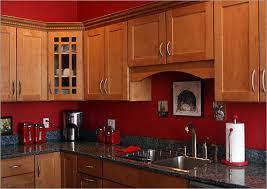 Dark Red Kitchen Colors