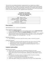 Aq Soe Lesson Plan Template 4 04 17 Lesson Plan Part Of Speech