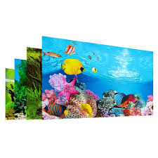High Definition Double Sided Background Paper Wallpaper Aquarium