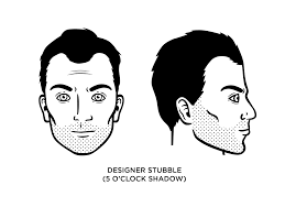 How To Cut Designer Stubble 5 Oclock Shadow Designer Stubble How To Grow Examples
