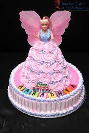 1st Birthday Cake Designs For Baby Girl In India Pink Barbie Doll Cake Latest Birthday Cake Baby Girl