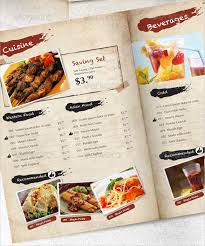 Restaurant Menu Design Templates 23 Price Menu Templates Free Sample Example Format Download