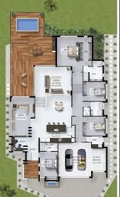 narrow design idea 3d house plans