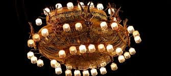 the chandelier used in the cur broadway ion of the phantom of the opera the cur touring show chandelier is proportionally taller and