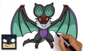 Cách vẽ Pokemon Noivern - Phim hoạt hình trực tuyến