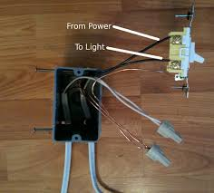 install light switch white wire images this how install ceiling single pole switches