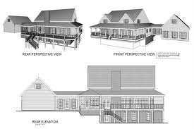 109 1093 home plan rear elevation of this 4 bedroom 2972 sq ft plan 109